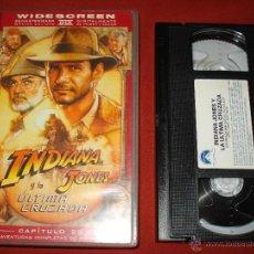 Cine: VHS INDIANA JONES Y LA ULTIMA CRUZADA. Lote 51934240