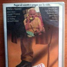 Cine: COMPLOT PARA UN SECUESTRO - MICKEY ROONEY. Lote 51993383