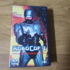Cine: ROBOCOP 3 VHS. Lote 52021471
