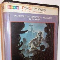 Cine: 2000 MANIACOS VHS - MITICO CLASICAZO GORE DE LOS 60 EN SU PRIMERA EDICION ¡¡OPORTUNIDAD!!. Lote 52030276