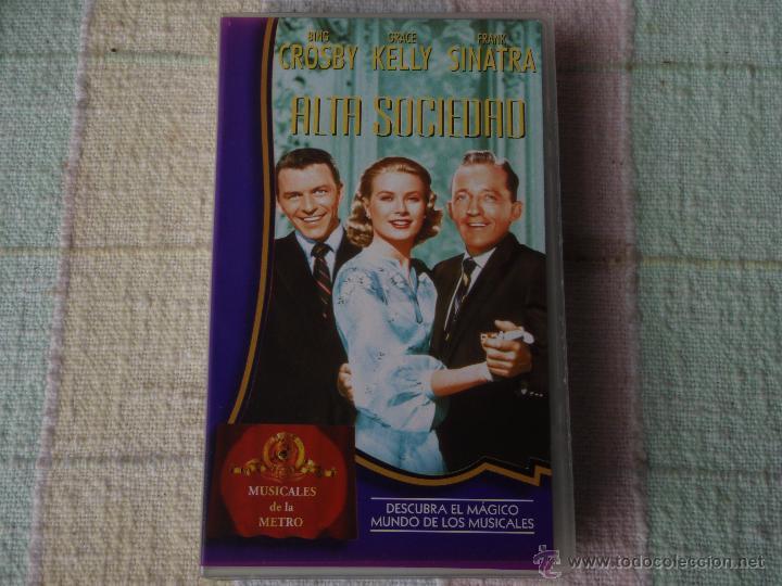 ALTA SOCIEDAD FRANK SINATRA, BING CROSBY & GRACE KELLY VHS (Cine - Películas - VHS)