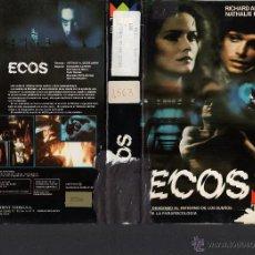 Cine: VHS- ECOS - RICHARD ALFIERI - TERROR PARANORMAL. Lote 52165328