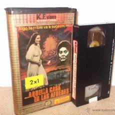 Cine: AQUELLA CASA EN LAS AFUERAS VHS - CLASICO ESPAÑOL DE 1980 ¡¡REBAJADO UN 25%!!. Lote 42383620