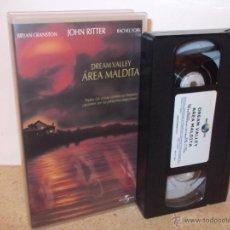 Cine: DREAM VALLEY: AREA MALDITA VHS - SERIE B CON TRES HISTORIAS Y BRYAN CRANSTON ¡CINTA NUEVA!. Lote 52375035