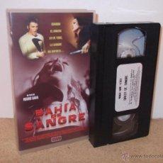 Cine: BAHIA DE SANGRE VHS - SLASHER SETENTERO DE CULTO DIRIGIDO POR MARIO BAVA ¡EN CINTA NUEVA!. Lote 52418089