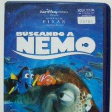 Cine: VHS BUSCANDO A NEMO - DISNEY PIXAR. Lote 52596437