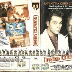 Cine: VHS PARO CLINICO KIEFER SUTHERLAND - PEDIDO MINIMO 5€. Lote 52597595