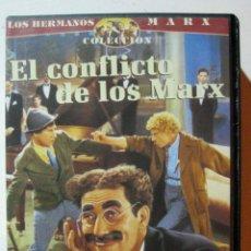 Cine: VHS LOS HERMANOS MARX - EL CONFLICTO DE LOS MARX. Lote 52699596