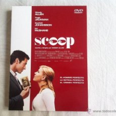 Cine: DVD SCOOP-WOODY ALLEN. Lote 52709933