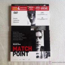 Cine: DVD MATCH POINT-WOODY ALLEN. Lote 52709956