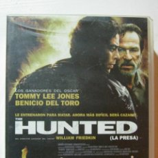 Cine: VHS THE HUNTED. Lote 52754958