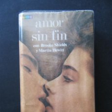 Cine: VHS AMOR SIN FIN. PRIMERA EDICION. FRANCO ZEFFIRELLI. BROOKE SHIELDS, MARTIN HEWITT. CAJA GRANDE. . Lote 52806708