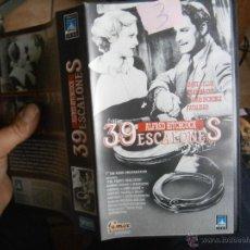 Cine: ALFRED HITCHCOCK 39 ESCALONES-VHS(COMPRA MINIMA 10 EUR--). Lote 52932843