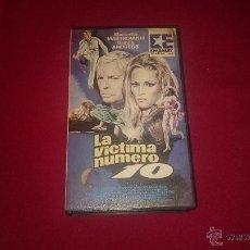Cine: LA VICTIMA NUMERO 10 - VHS. Lote 52984966