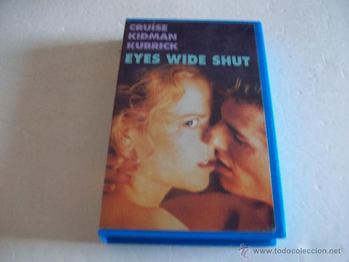 EYES WIDE SHUT/ CRUISE, KIDMAN, KUBRICK (Cine - Películas - VHS)