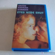 Cine: EYES WIDE SHUT/ CRUISE, KIDMAN, KUBRICK. Lote 53198281