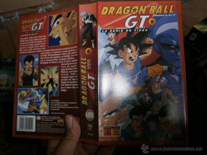DRAGON BALL GT 9-VHS (Cine - Películas - VHS)