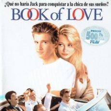 Cine: BOOK OF LOVE. Lote 53263991