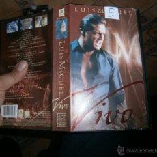 Cine: LUIS MIGUEL EN VIVO-VHS(COMPRA MINIMA 10 EURO---). Lote 53268557