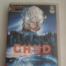 Cine: C.H.U.D. (CHUD: CANÍBALES HUMANOIDES ULULANTES DEMONÍACOS) • VHS. Lote 53268779