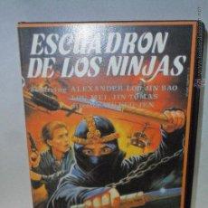 Cinema: ESCUADRON DE LOS NINJAS - VHS SERIE B -. Lote 53542953