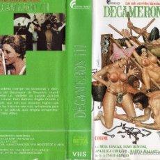 Cine: VHS\. DECAMERON III LAS MÁS ATREVIDAS HISTORIAS DE BOCACCIO • VIDEO EROTICA. VHS + DVD GRATIS. Lote 53578098