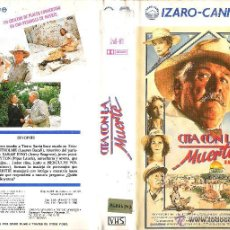 Cine: VHS CITA CON LA MUERTE - AGATHA CHRISTIE - CARRIER FISHER - LAUREN BACALL - PEDIDO MINIMO 5€. Lote 53632183