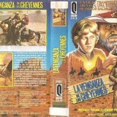 Cine: VHS LA VENGANZA DE LOS CHEYENNES - RICHARD BOONE. Lote 53632941