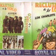Cine: RECLUTAS A LO LOCO - VHS - CLAUDE ZIDI. Lote 54915499