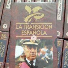 Cine: LA TRANSICION ESPAÑOLA. 26 VHS COMPLETA.. Lote 53652331