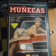 Cine: PELICULA VHS PARA ADULTOS COLECCION MUÑECAS. Lote 53677952