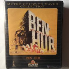 Cine: BEN - HUR - MGM COLLECTION - 2 VHS BOX. Lote 53765447