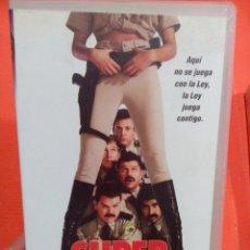 Cine: VHS SUPER MADEROS . Lote 54057249