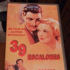 Cine: PELICULA VHS - 39 ESCALONES - ALFRED HITCHCOCK. Lote 54149184