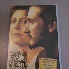 Cine: VHS PENA DE MUERTE. Lote 54155075