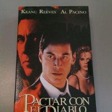 Cine: VHS PACTAR CON EL DIABLO. Lote 54156237