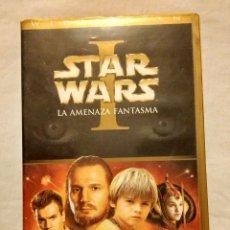 Cine: PELÍCULA VHS: STAR WARS EPISODIO I - LA AMENAZA FANTASMA. Lote 54380217
