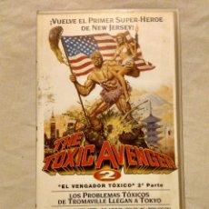 Cine: PELÍCULA VHS: EL VENGADOR TÓXICO 2. Lote 54380227