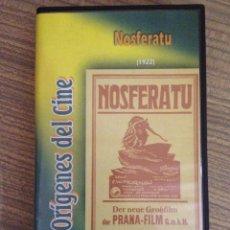 Cine: VHS NOSFERATU COLECCION ORÍGENES DEL CINE. Lote 54421495