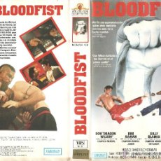 Cine: VHS BLOODFIST (ARTES MARCIALES CON DON THE DRAGON WILSON) GENIAL. Lote 54422392