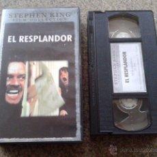 Cine: EL RESPLANDOR -- STANLEY KUBRICK -- VHS --. Lote 54470338