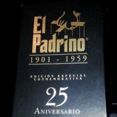Cine: EL PADRINO 1901 - 1959 EDICCION ESPECIAL 25 ANIVERSARIO 3 VHS EL PADRINO I, II, III . Lote 54526833