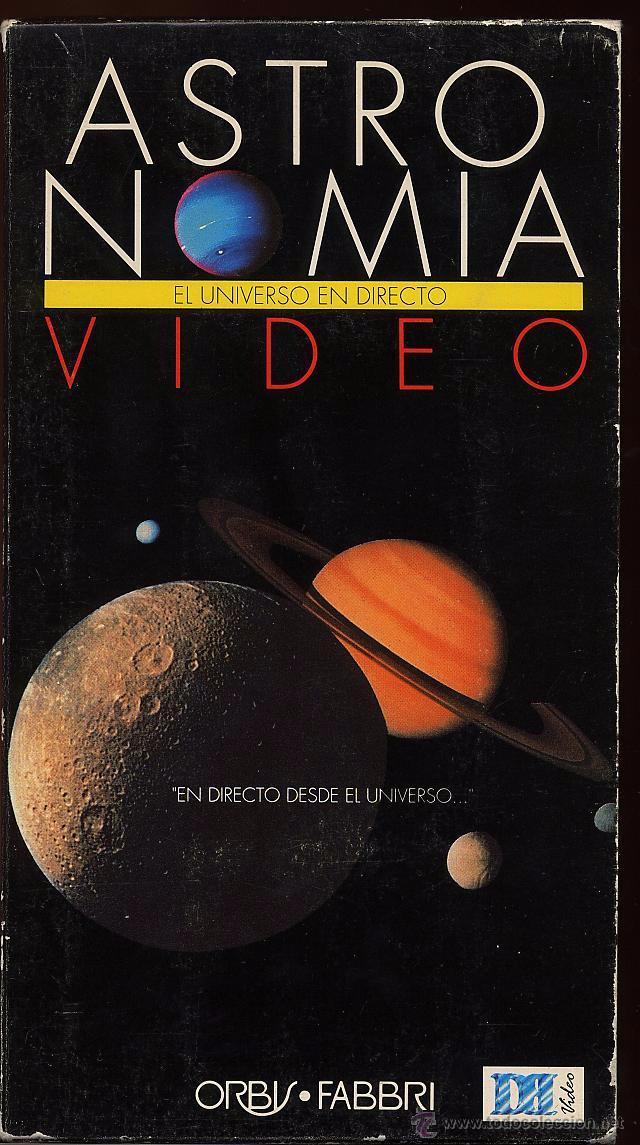 VHS - ASTRONOMIA - EL UNIVERSO EN DIRECTO (Cine - Películas - VHS)