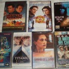 Cine: LOTE DE SIETE VIDEOS VHS . Lote 54715602