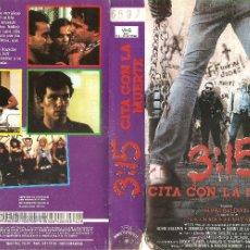 Cine: 3:15 (CITA CON LA MUERTE)UNICA EN TC ADAM BALDWIN(PROTAGONISTA DE LA CHAQUETA METALICA)LEER DENTRO. Lote 54740591