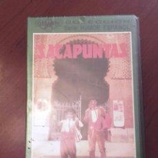 Cine: CINTA VHS NUEVA PRECINTADA YO QUIERO SER TORERO DÚO SACAPUNTAS DIRECTOR MILIKI PAYASOS DE LA TELE. . Lote 91537640