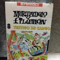 Cine: PELICULA VHS MORTADELO Y FILEMÓN - TESTIGO DE CARGO Nº 8 EL PERIODICO. Lote 54784726