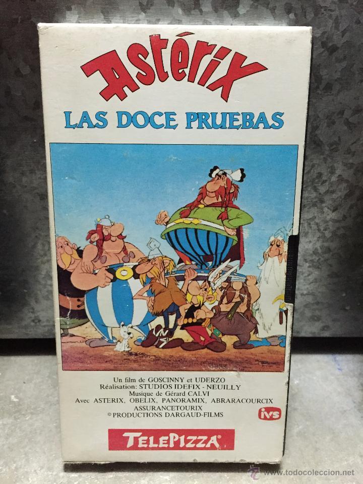 Pelicula Vhs Asterix Y Obelix - Las Doce Prueba