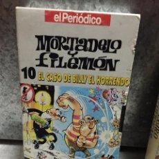 Cine: PELICULA VHS MORTADELO Y FILEMÓN - EL CASO DE BILLY EL HORRENDO Nº 10 EL PERIODICO. Lote 54784784