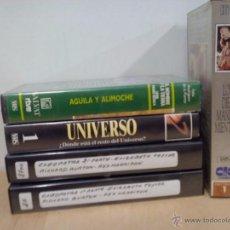 Cine: LOTE DE VHS. DOCUMENTALES. VER FOTOS. Lote 54960138